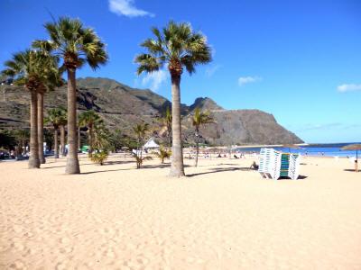San Andres na Tenerife 0728y pláž